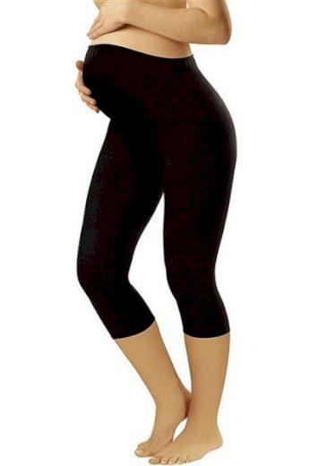 ITALIAN FASHION Těhotenské legíny Leggins short black barva černá, velikost S