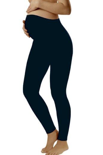 ITALIAN FASHION Těhotenské legíny Leggins long blue barva tmavě modrá, velikost S
