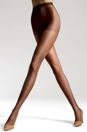 GATTA Dámské punčocháče Laura plus brown barva hnědá, velikost XL