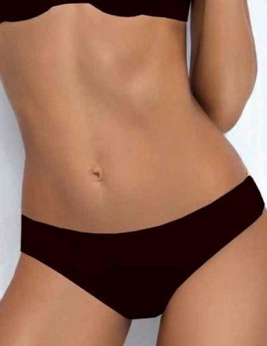 SIELEI Dámské kalhotky 1555 černá barva černá, velikost S