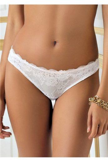 SIELEI Dámské kalhotky 2457 bílá barva bílá, velikost S