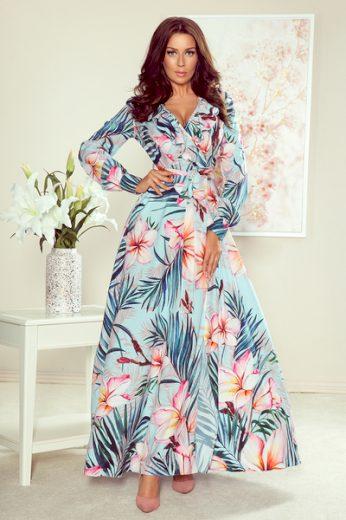 NUMOCO Dámské šaty  245-2  barva viz foto, velikost M
