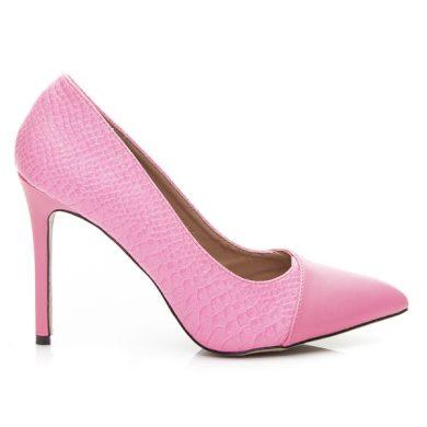 SERGIO TODZI Dámské luxusní lodičky - růžové velikost 40