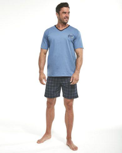 CORNETTE Pánské pyžamo 326/86 Athletic 3  barva modrá, velikost M