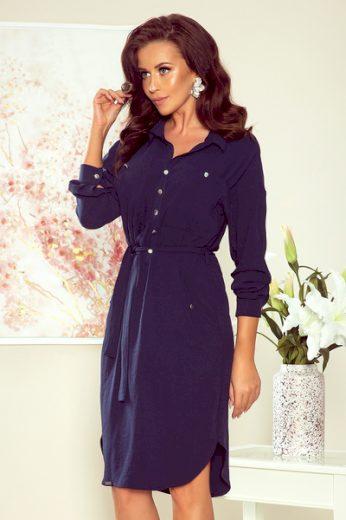NUMOCO Dámské šaty  258-3 Brooke barva tmavě modrá, velikost S