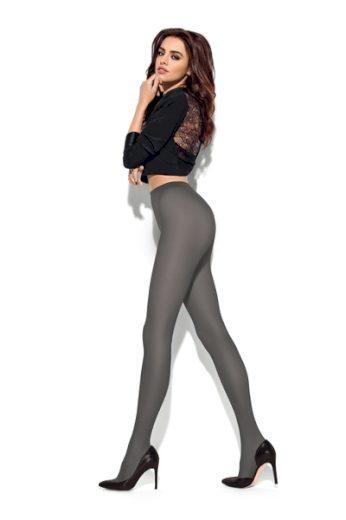 MONA Dámské punčocháče Spiga plus grigiotto barva viz foto, velikost XL