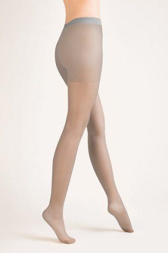GABRIELLA Dámské punčocháče 105 classic grey barva šedá, velikost S