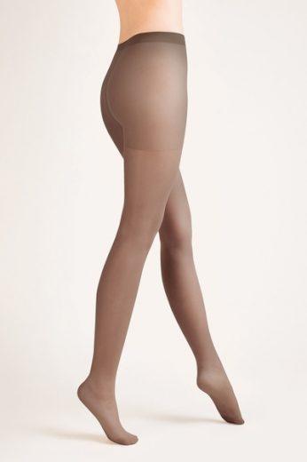 GABRIELLA Dámské punčocháče 105 classic mocca  barva mocca, velikost S