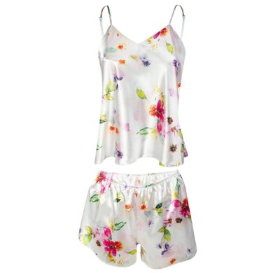 DKAREN Dámské pyžamo FLOWERS KK 010 barva viz.foto, velikost S