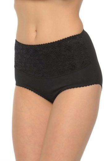 MITEX Dámské stahovací kalhotky Ala super černá barva černá, velikost 7XL