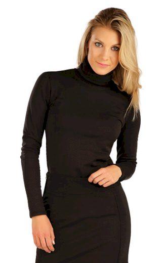LITEX Rolák dámský s dlouhým rukávem 7A191 barva černá, velikost S