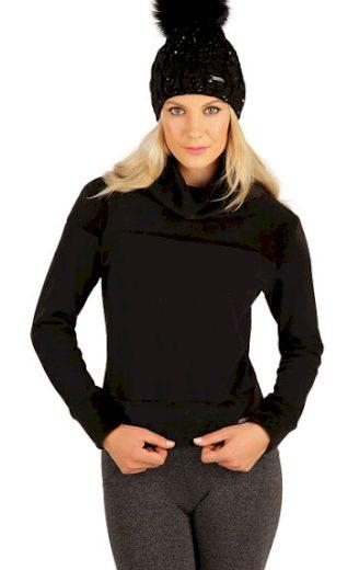 LITEX Rolák dámský s dlouhým rukávem 7A088 barva černá, velikost S