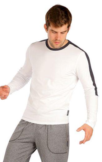 LITEX Triko pánské s dlouhým rukávem 7A370 barva bílá, velikost L