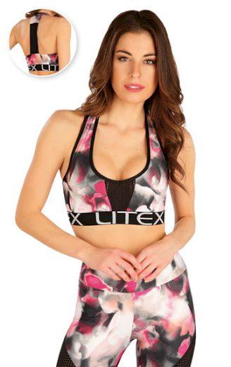 LITEX Sportovní top dámský 7A404 barva tisk, velikost L