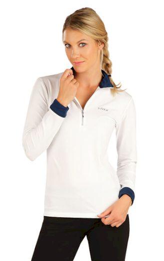 LITEX Tričko dámské s dlouhým rukávem 7A440 barva bílá, velikost S