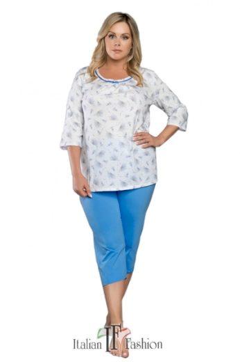 ITALIAN FASHION Dámské pyžamo Lawenda barva vícebarevné, velikost M