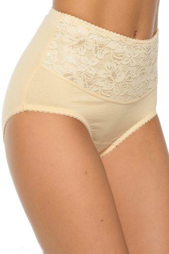 MITEX Dámské stahovací kalhotky Ala plus beige  barva béžová, velikost 4XL