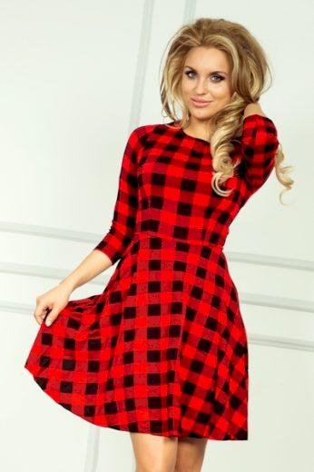 NUMOCO Dámské šaty 49-2 barva vícebarevné, velikost XXL