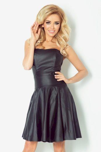 NUMOCO Dámské šaty 83-2 barva černá, velikost M