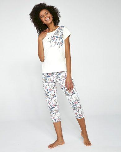 CORNETTE Dámské pyžamo 670/200 SOPHIE barva béžová, velikost M