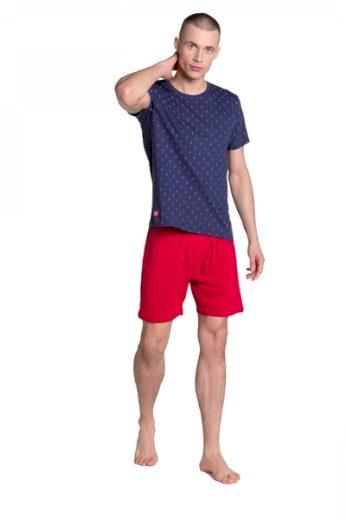 HENDERSON Pánské pyžamo 38866 barva tmavě modrá, velikost M