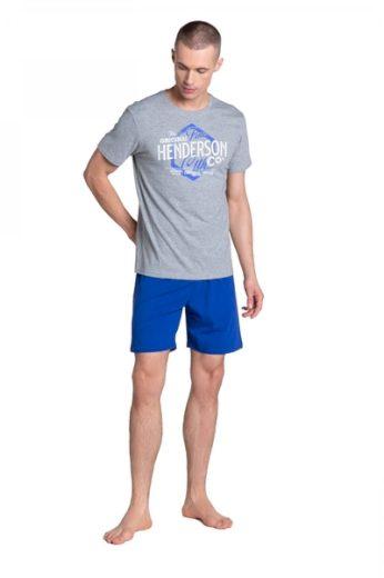 HENDERSON Pánské pyžamo 38869 barva šedá, velikost M