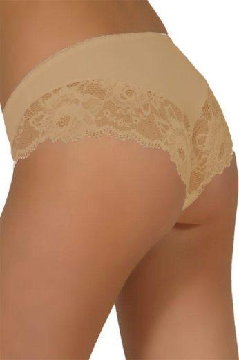 MODO Dámské kalhotky 34 beige barva béžová, velikost S
