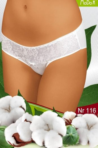 MODO Dámské kalhotky 116 white barva bílá, velikost XL