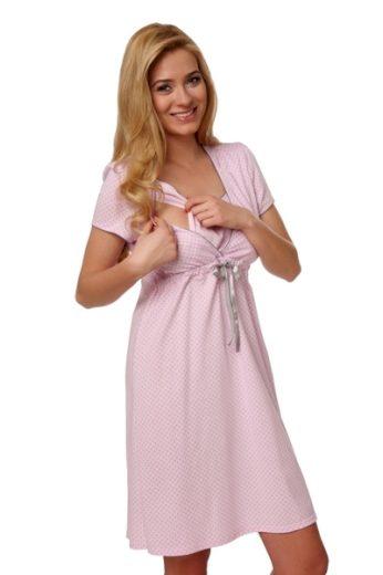 ITALIAN FASHION Dámská kojící košile Felicita pink barva růžová, velikost S