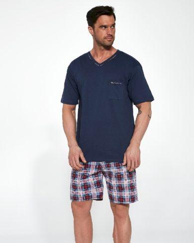 CORNETTE Pánské pyžamo 329/113 STEVE barva tmavě modrá, velikost M
