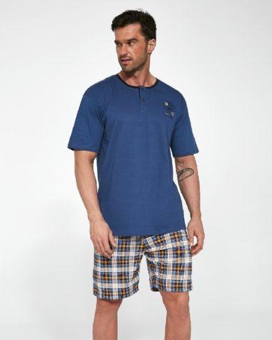CORNETTE Pánské pyžamo 327/105 ONTARIO  barva modrá, velikost M
