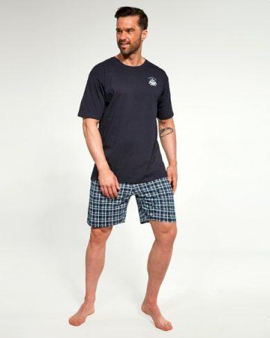 CORNETTE Pánské pyžamo 326/120 barva modrá, velikost M