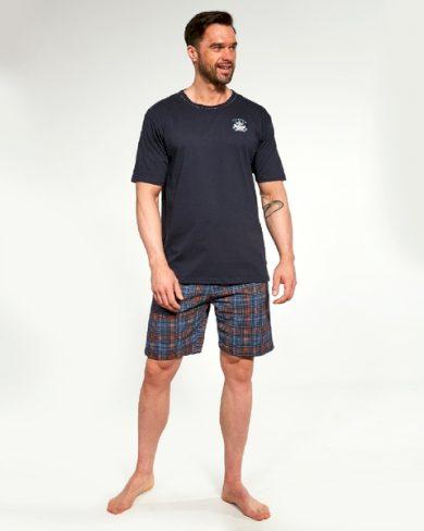 CORNETTE Pánské pyžamo 326/121 FOLIE barva modrá, velikost M