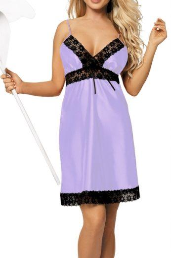 DKAREN Dámská košilka Peggy violet barva fialová, velikost XS