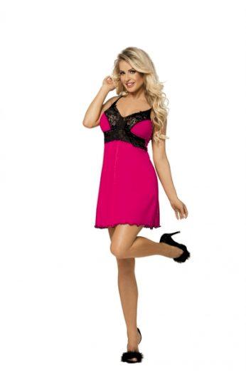 DKAREN Dámská košilka Natasha dark pink barva tmavě růžová, velikost XS