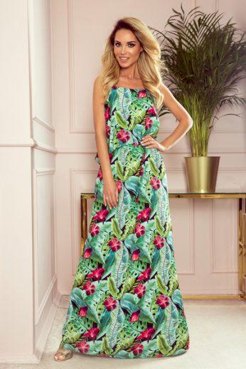 NUMOCO Dámské šaty  294-2 barva vícebarevné, velikost S