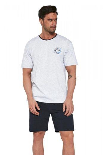 CORNETTE Pánské pyžamo 471/110 barva vícebarevné, velikost M