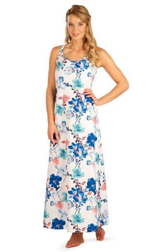 LITEX Šaty dámské dlouhé na ramínka 5B192 barva viz. foto, velikost S