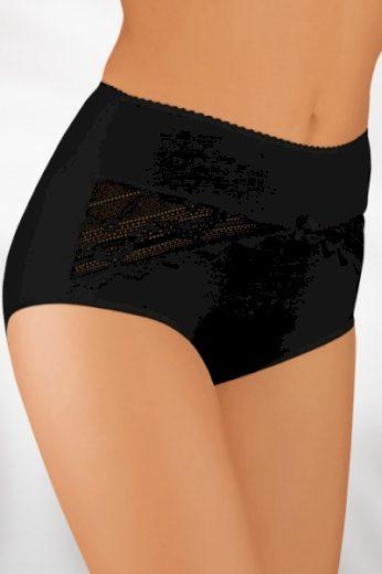 BABELL Dámské kalhotky 004 plus black barva černá, velikost 3XL