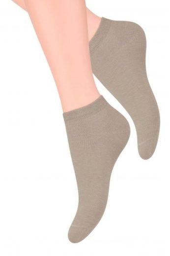 Steven Dámské ponožky 052 beige barva béžová, velikost 35/37