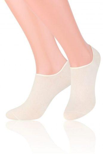 Steven Dámské ponožky Invisible 070 white barva bílá, velikost 35/37