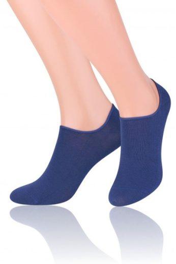 Steven Dámské ponožky Invisible 070 dark blue barva tmavě modrá, velikost 35/37