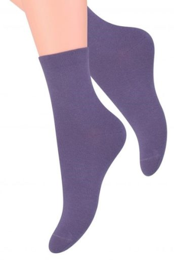 Steven Dámské ponožky 037 purple barva fialová, velikost 35/37