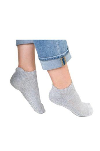 Steven Dámské ponožky 135 grey barva šedá, velikost 35/37