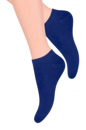 Steven Dámské ponožky 052 dark blue barva tmavě modrá, velikost 35/37