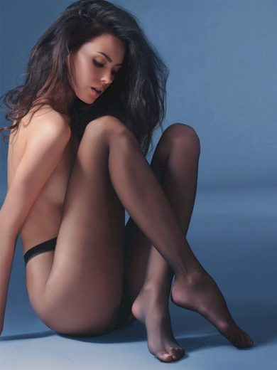 GABRIELLA Dámské punčocháče 102 classic melissa barva béžová, velikost S