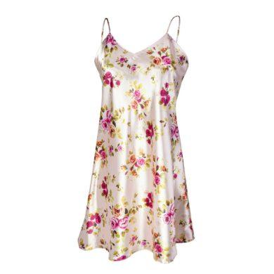 DKAREN Dámská košilka FLOWERS HK 004 barva růžová, velikost S