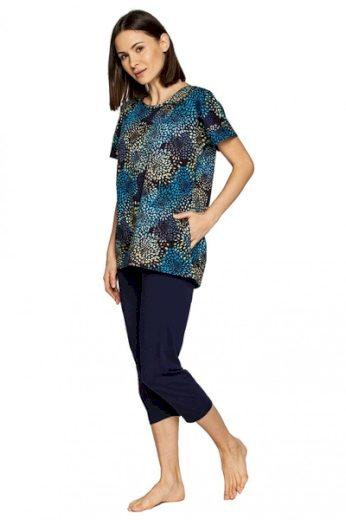 CANA Dámské pyžamo 562 barva tmavě modrá, velikost M