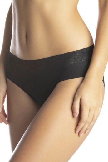LAMA Dámské kalhotky 5000 BI-02 black barva černá, velikost S