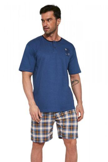 CORNETTE Pánské pyžamo 327/105 barva džínová, velikost M